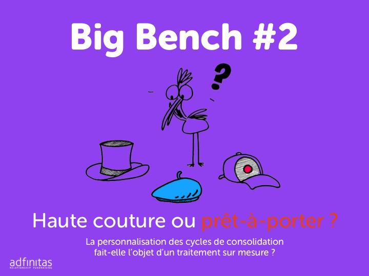 Big bench 1 adfinitas comment les associations personnalisent-elle le cycle marketing du post don